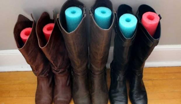 Organizar los zapatos