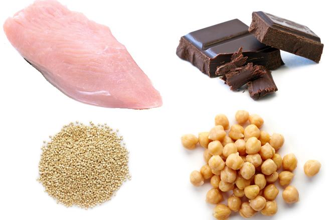 Alimentos anti estrés. Foto: elmundo.es