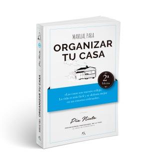 """Este verano tienes una oportunidad para empezar a leer el """"Manual para organizar tu casa"""". En septiembre empezarás la organización y el orden con ventaja."""